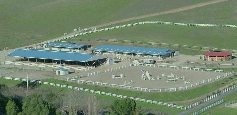 Eastward View of Farm