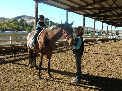 kid_horse_mom